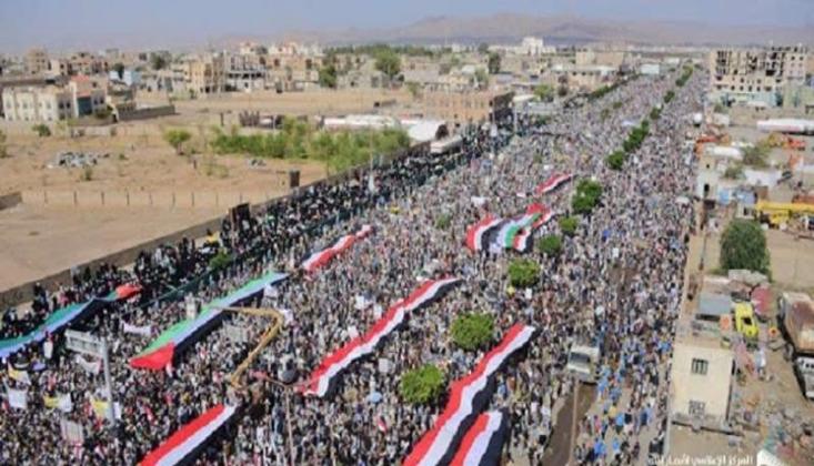 Yemen'in Cesur İnsanları Kudüs İçin Yürüdü