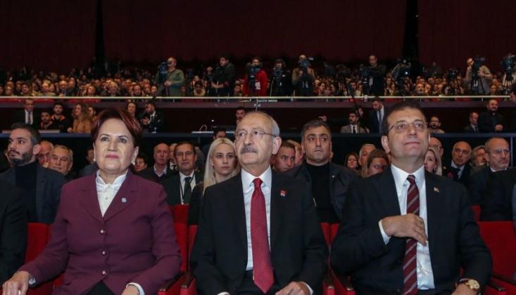 Kılıçdaroğlu, Akşener ve İmamoğlu'ndan 'Kanal İstanbul' İttifakı