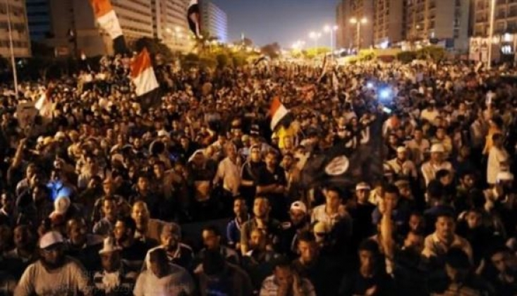Mısır'daki Gösteriler İsrail'de Krize Neden Oldu