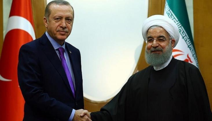 Erdoğan, Ruhani İle Filistin'i Görüştü