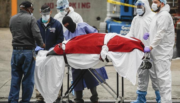 ABD'de Toplam ölü Sayısı 50 Bine Yaklaştı