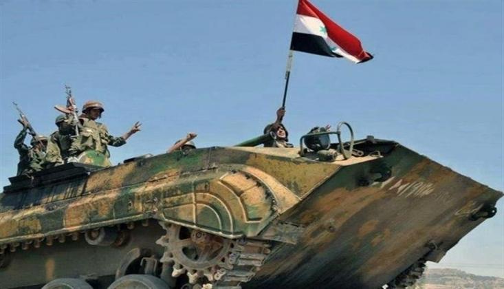 Suriye Ordusu Stratejik Bölgeyi Ele Geçirdi