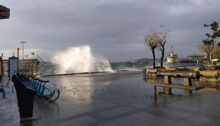 Meteoroloji'den Yağış ve Marmara İçin Kuvvetli Rüzgâr Uyarısı!