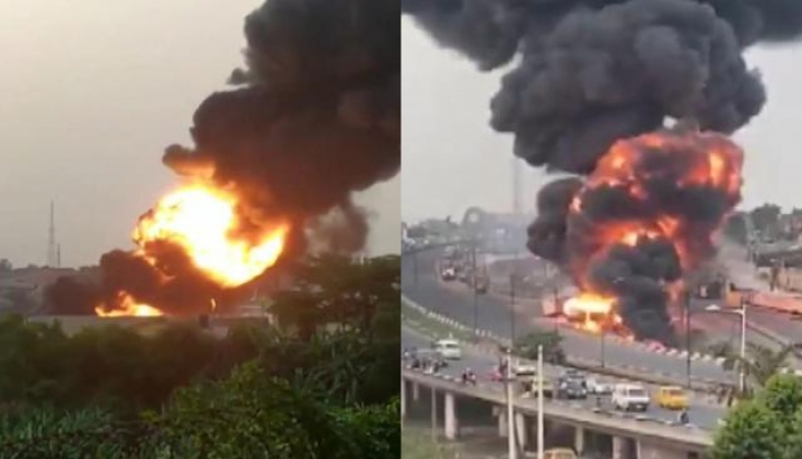 Nijerya'da Tanker Patladı: 11 Yaralı
