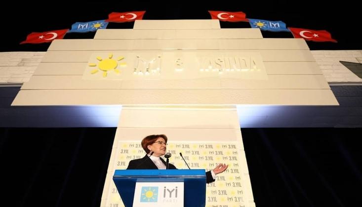 Erdoğan İYİ Parti'nin Kuruluş Yıldönümünü Kutladı