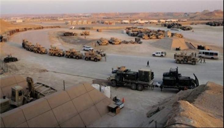 ABD'den, Irak'taki Askeri Üssüne Sevkiyat!
