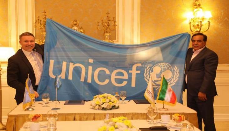 UNICEF ve İran Arasında İş Birliği