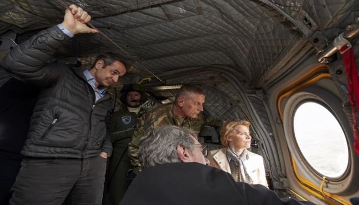 AB Yetkilileri Türkiye-Bulgaristan Sınırını Havadan İnceledi