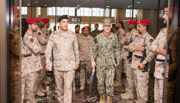 ABD Merkez Donanma Komutanı Riyad'da