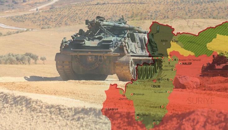 TSK Suriye'de 7 Kontrol Noktasından Çekildi