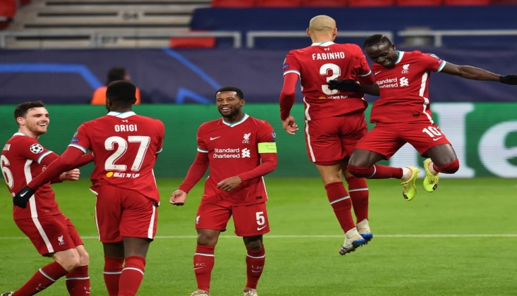Leipzig'i Deviren Liverpool Çeyrek Finalde!