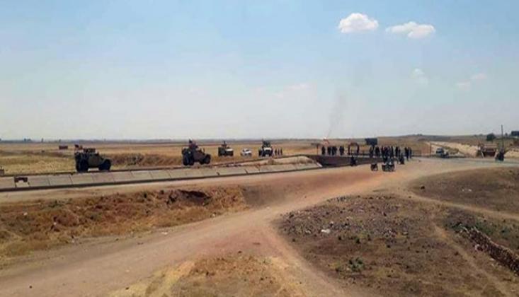 Suriye Ordusu, ABD Askeri Konvoyunun Geçişini Engelledi