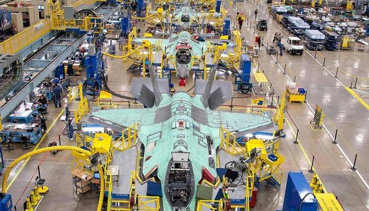 ABD, Türkiye İçin Yapılan F-35'lere El Koydu