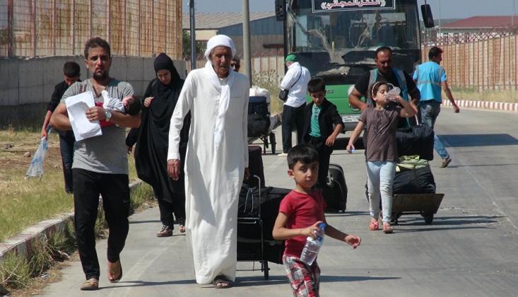 Yarım Milyonu Aşkın Suriyeli Kendi Vatanlarına Döndü