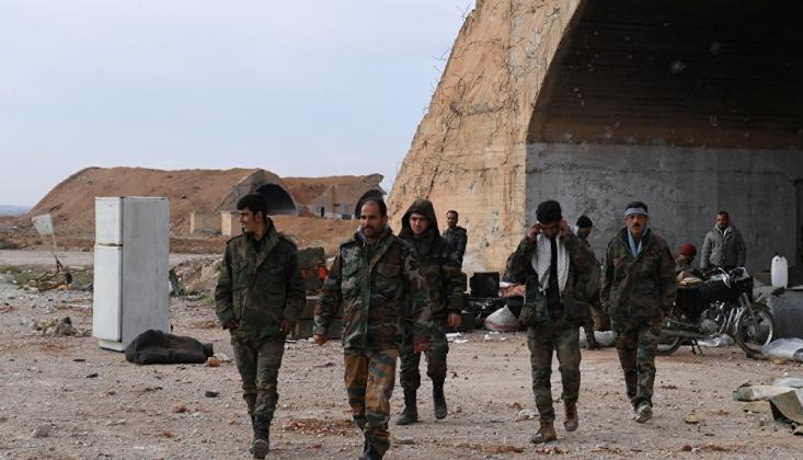 Suriye Hükümet Güçleri, İdlib'in Güneyinde İlerliyor