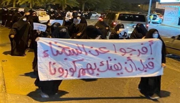 Bahreyn Halkının Al-i Halife Rejimine Yönelik Protestoları Devam Ediyor