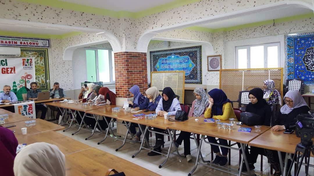 TAYDER 10. Öğrenci Eğitim-Gezi Kampı 2. Günden Kareler